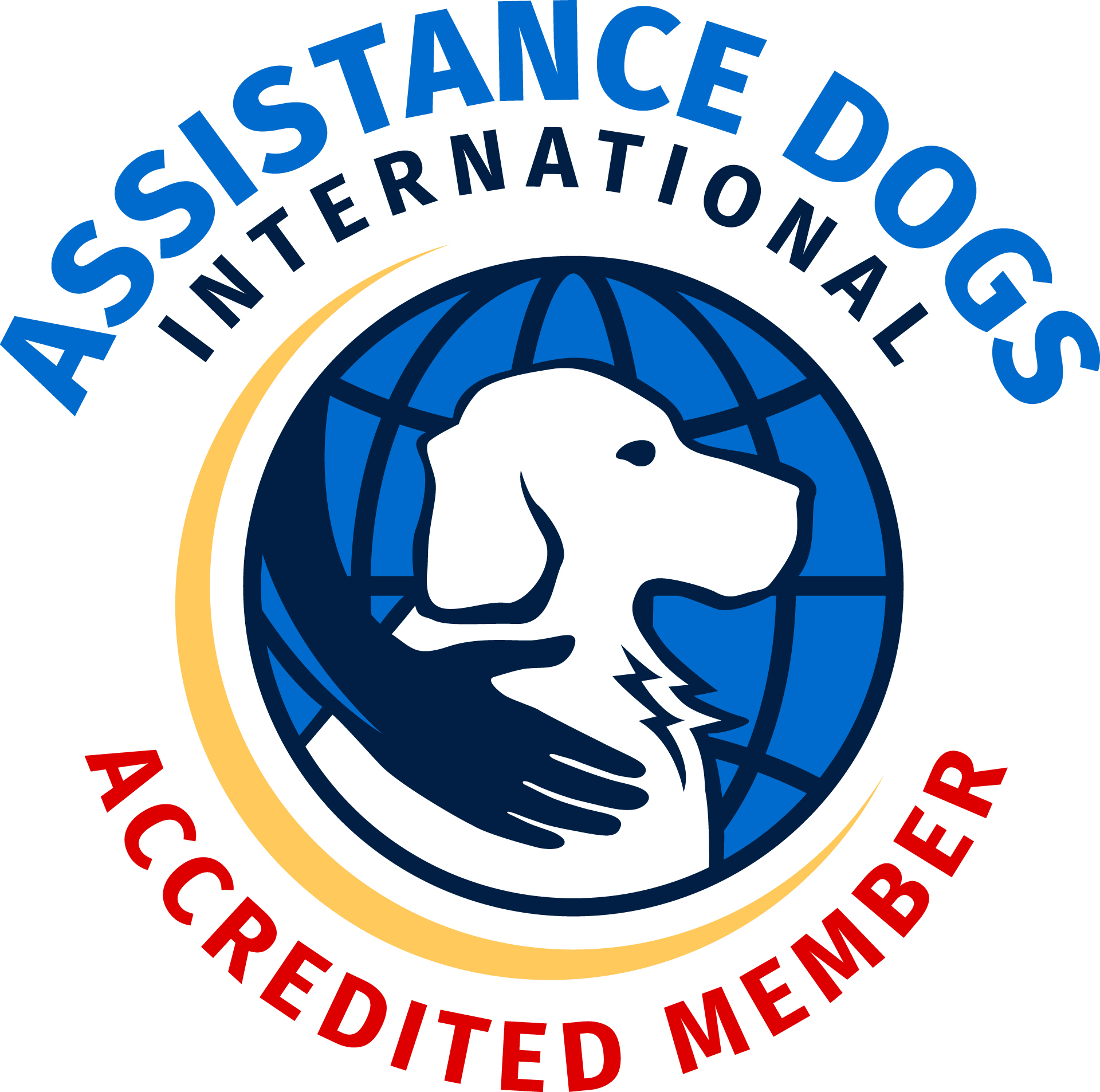 ADI accredited circle logo