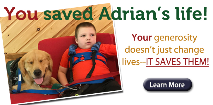 You saved Adrian's Life